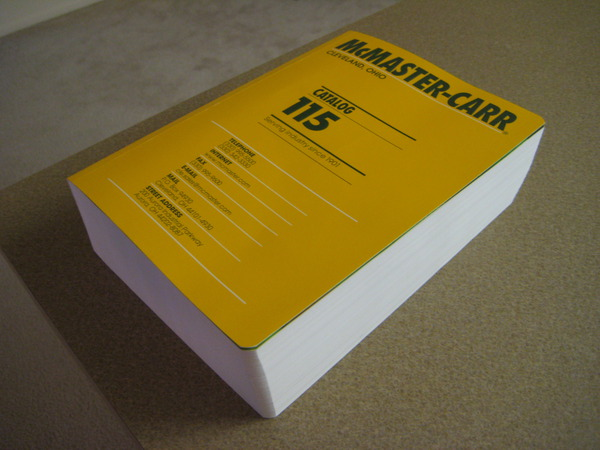 Design Envy  McMasterCarr Catalog